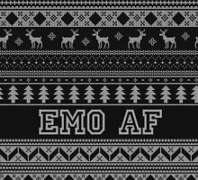 """Christmas """"Emo AF"""" by g4l3xy"""