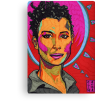 The Strength of Mariane Pearl Canvas Print