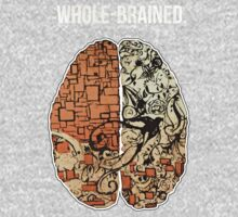 Whole-Brained (Orange) by thescientish