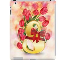 Greeting Card for Women's Day iPad Case/Skin