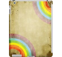 Halftone grunge background iPad Case/Skin