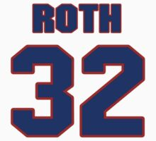 National football player Pete Roth jersey 32 by imsport