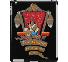 King of All the Land iPad Case/Skin