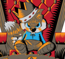 King of All the Land Sticker