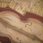 Reclining Cello by justineb