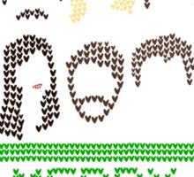 Pawnee Christmas Sweater Sticker