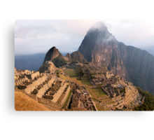 Machu Picchu - Jewel of the Incas Canvas Print