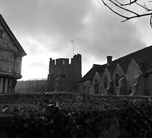 Stokesay Castle & Gate House by Justine Humphries