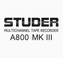Studer A800 MK III  by yober