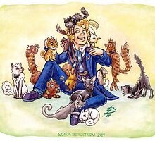 Doctor Mew? (The Sixth Doctor with Cats) by SonjaArts