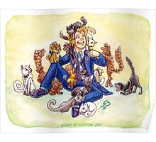 Doctor Mew? (The Sixth Doctor with Cats) Poster