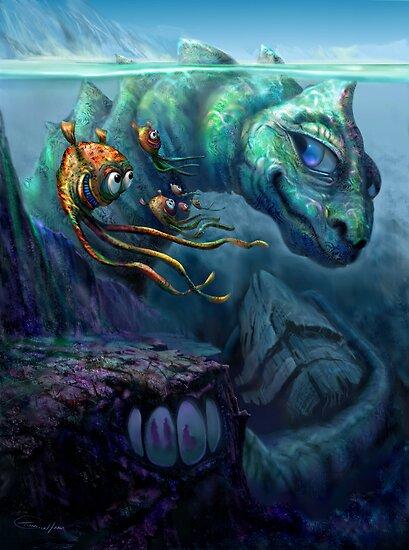 Fantasy water creatures - photo#12