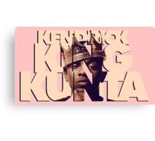 Kendrick King Kunta Canvas Print
