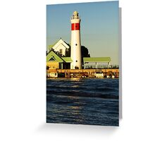 Ohio - Point Retreat Lighthouse 2 Greeting Card