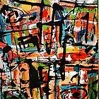 Abstract Expressions Of A Happier Time #3 by Laurie Vaughn