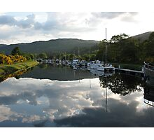 Caledonian Canal near Loch Ness Photographic Print