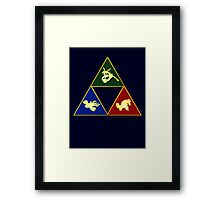 Hoenn's Legendary Triforce Framed Print