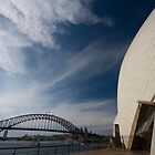 Opera House and Harbour Bridge by Daniel Chanisheff