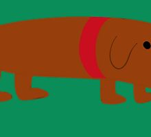 Badly Drawn Pups: Weenie Pup by GottyKoby