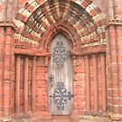 St Magnus&#x27; Cathedral Door by John Nelson Photography