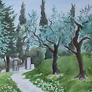 Olive Grove by Carolyn Bishop