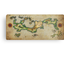 Arcaron old map Metal Print