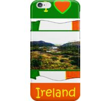 jGibney I Love Ireland 1999 Kerry Lake District Kerry Ireland Flag T-Shirt wb The MUSEUM Red Bubble Gifts iPhone Case/Skin