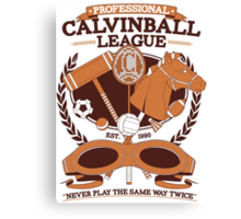 CALVINBALL  Canvas Print