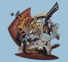 Sam & Max - Door Art Kids Clothes