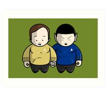 To boldly go ... Art Print