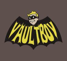 Vault Boy - 1960's Style Batman Logo Mashup by Threaded