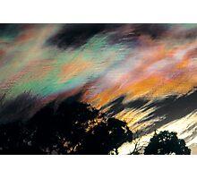 Iridescent Cloud Photographic Print