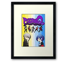 Persona Q Poster Framed Print