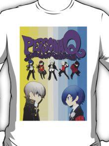 Persona Q Poster T-Shirt