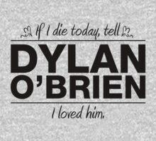 Dylan O' Brien - If I Die Series (Variant) by huckblade