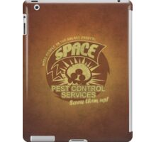 Space pest control services iPad Case/Skin