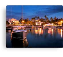 Flatts at Night Canvas Print