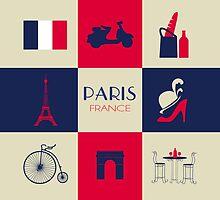 City Of Paris European France by SOVART69