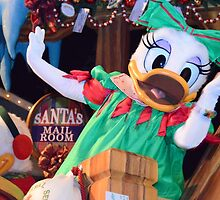 Disney Daisy Duck Christmas Disney Christmas by notheothereye