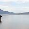 Fisherman at Lake Atitlan by Matt Gibbs