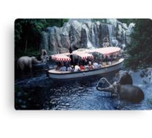 Jungle Cruise Metal Print