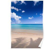Hawksbill Beach, Antigua, Caribbean Poster