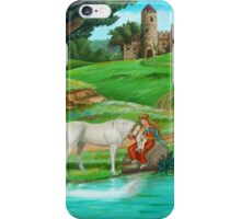 The Unicorn And The Maiden iPhone Case/Skin