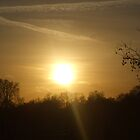 Atmospheric feel over the London Sky by Deirdre Banda