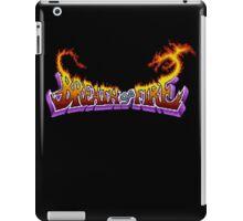 Breath of Fire (SNES) Title Screen iPad Case/Skin