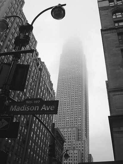 Empire State Building, NYC by Abi Skeates
