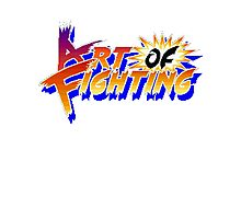 Art of Fighting (Arcade) Title Screen Photographic Print