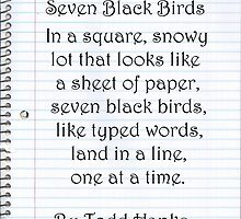 Seven Black Birds by JuanMcGowen