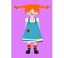 Red Head Girl Photographic Print