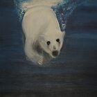 Polar Bear by Monika Marciniak